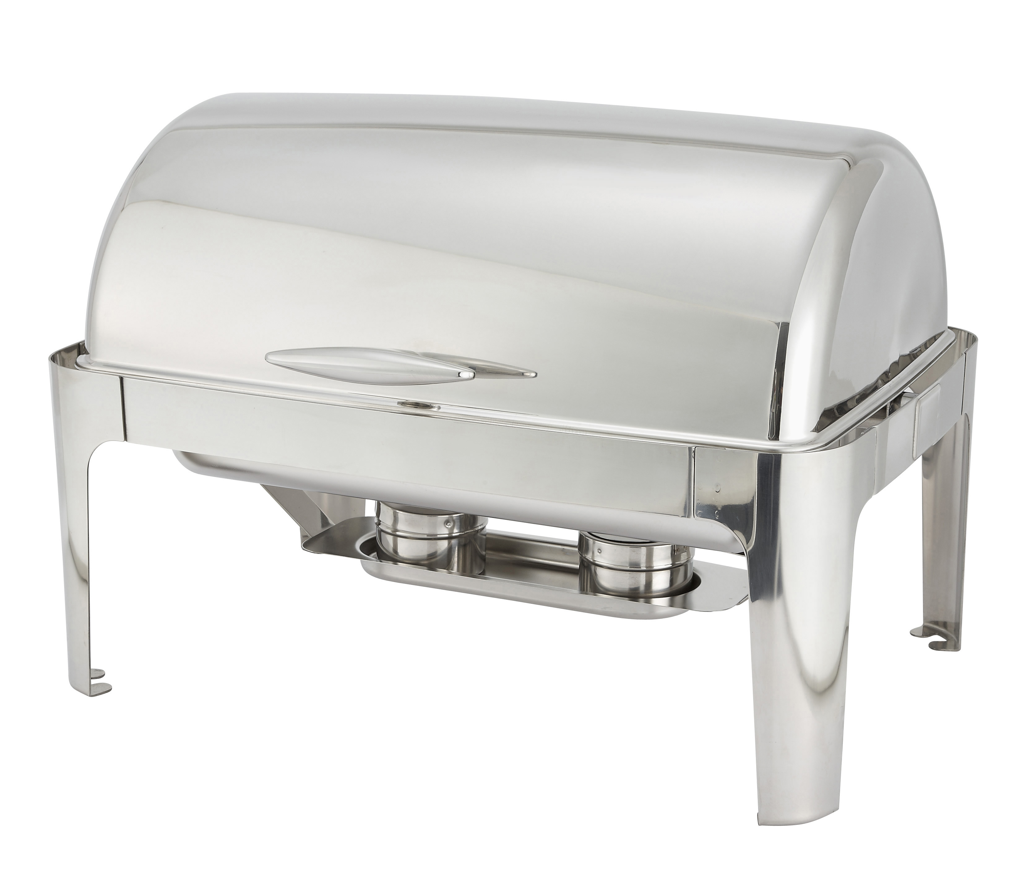 8 Qt, Full Size Roll Top Chafer, Oblong