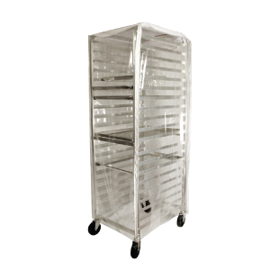 20 Tier Aluminum Pan Rack Cover