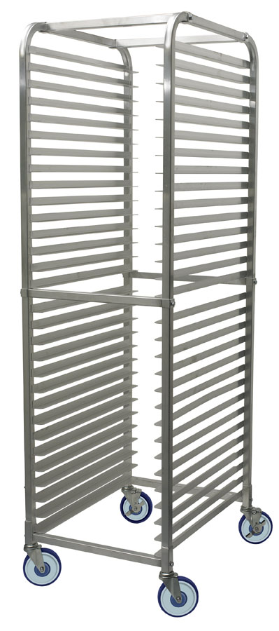 30 Tier Aluminum Rack, Space:2